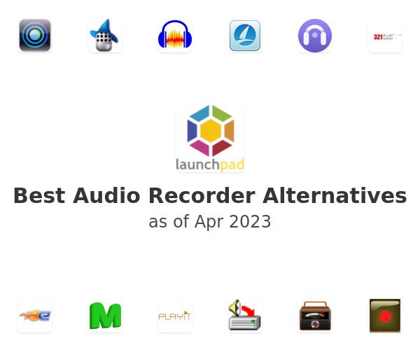 Best Audio Recorder Alternatives