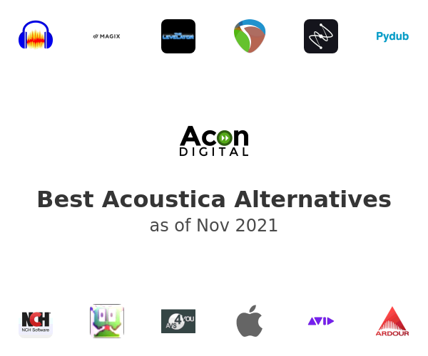 Best Acoustica Alternatives
