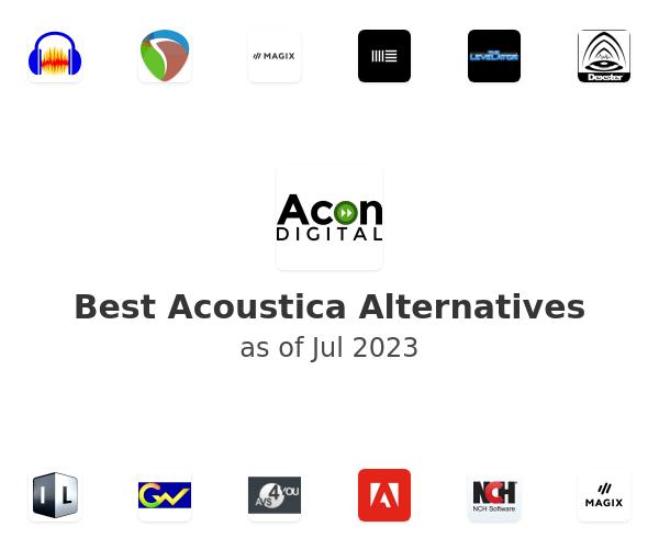 Best Acoustica Alternatives