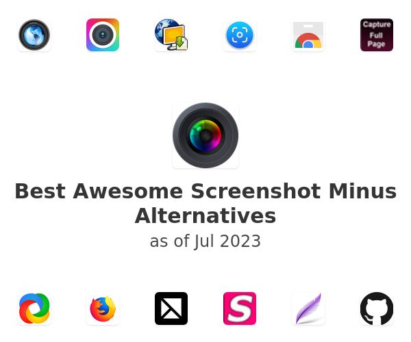 Best Awesome Screenshot Minus Alternatives