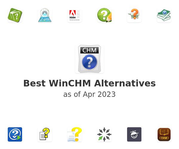 Best WinCHM Alternatives