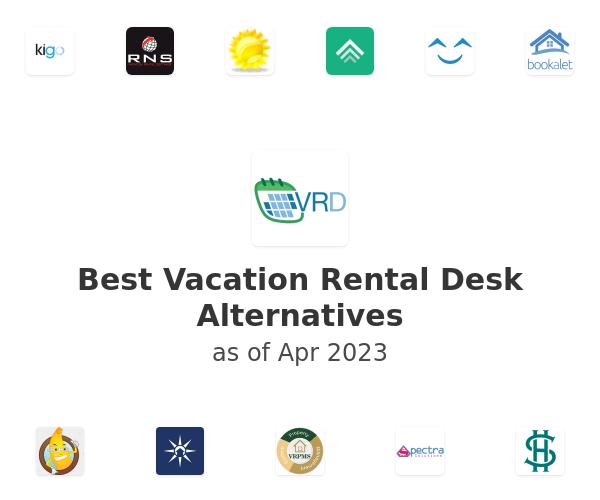 Best Vacation Rental Desk Alternatives
