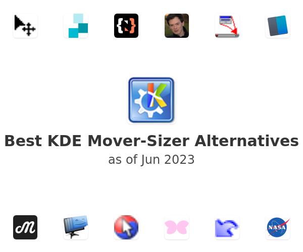 Best KDE Mover-Sizer Alternatives