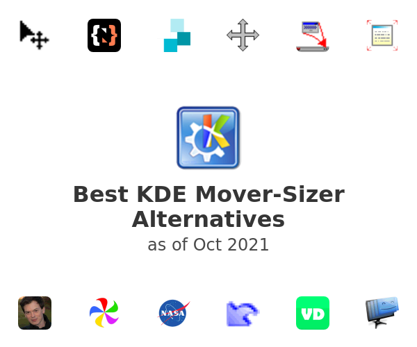 Best KDE Mover-Sizer Alternatives
