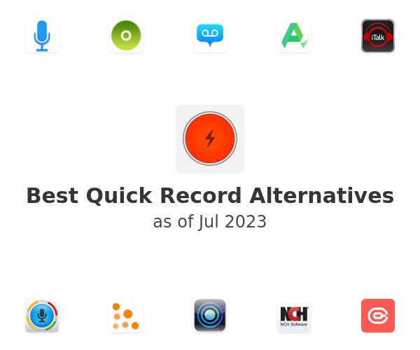 Best Quick Record Alternatives