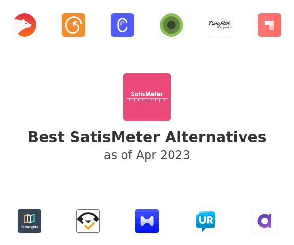 Best SatisMeter Alternatives