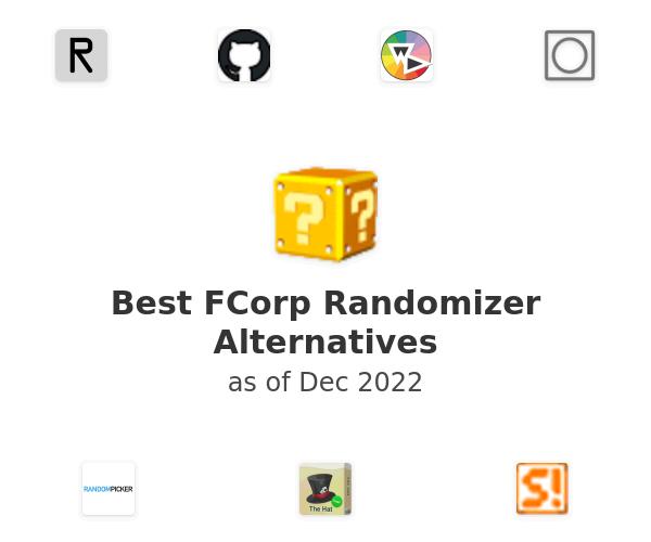 Best FCorp Randomizer Alternatives
