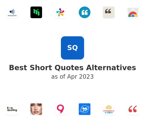 Best Short Quotes Alternatives