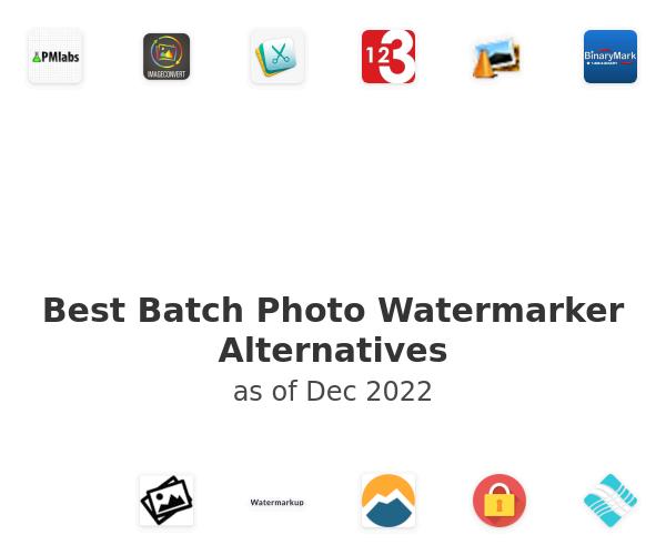 Best Batch Photo Watermarker Alternatives