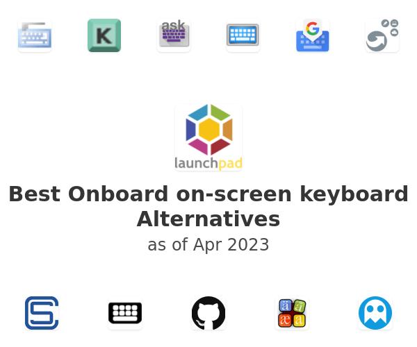 Best Onboard on-screen keyboard Alternatives