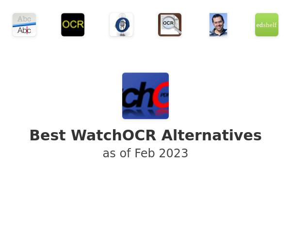Best WatchOCR Alternatives