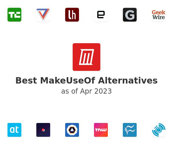 Best MakeUseOf Alternatives