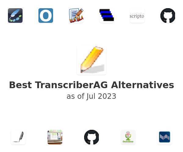 Best TranscriberAG Alternatives
