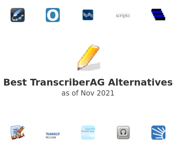 Best TranscriberAG Alternatives