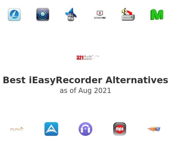 Best iEasyRecorder Alternatives