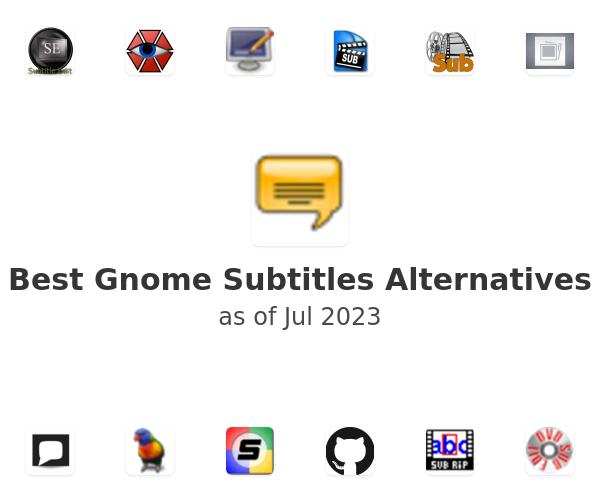Best Gnome Subtitles Alternatives