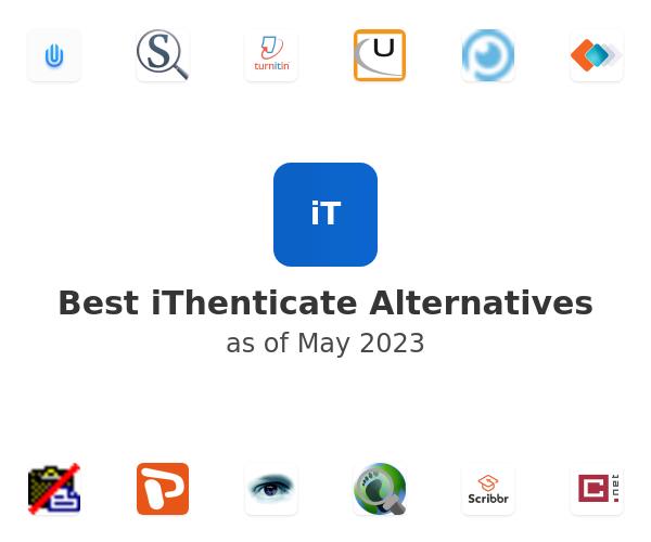 Best iThenticate Alternatives