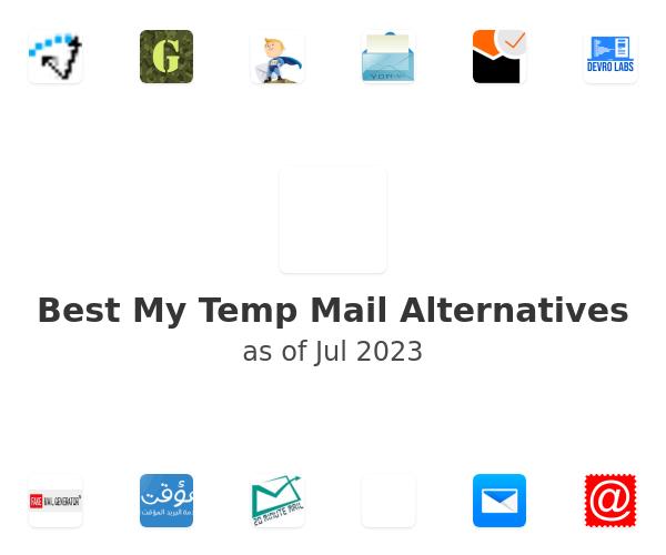 Best My Temp Mail Alternatives