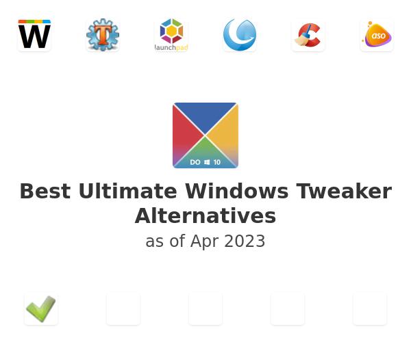 Best Ultimate Windows Tweaker Alternatives