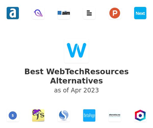 Best WebTechResources Alternatives