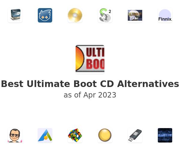 Best Ultimate Boot CD Alternatives