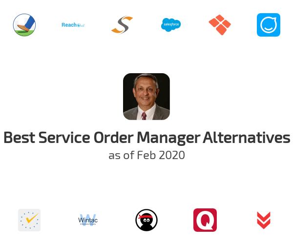 Best Service Order Manager Alternatives