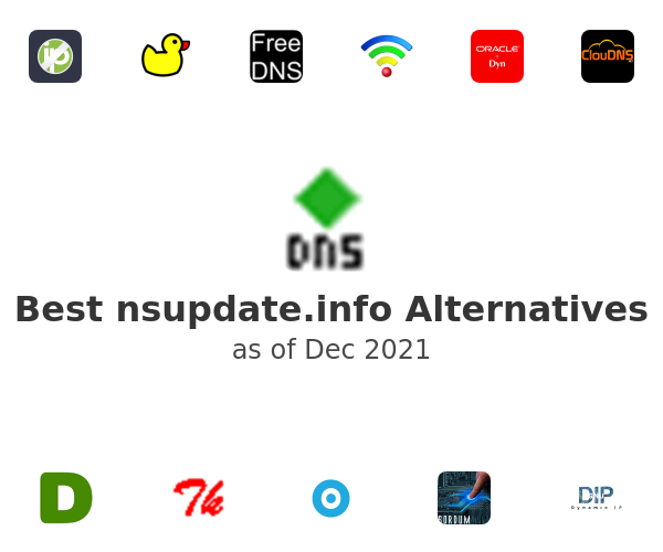 Best nsupdate.info Alternatives
