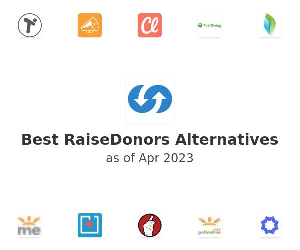 Best RaiseDonors Alternatives