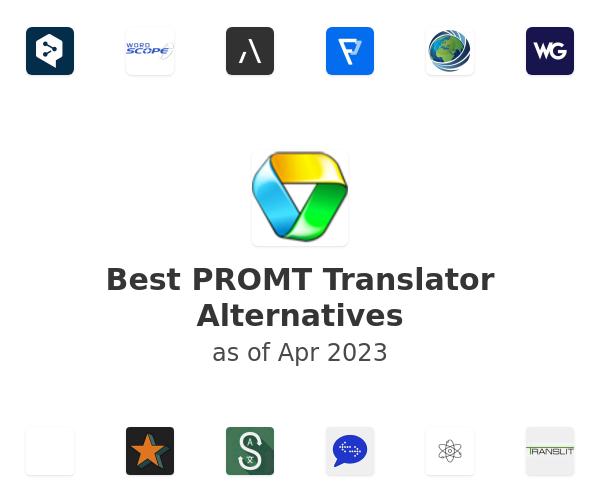 Best PROMT Translator Alternatives