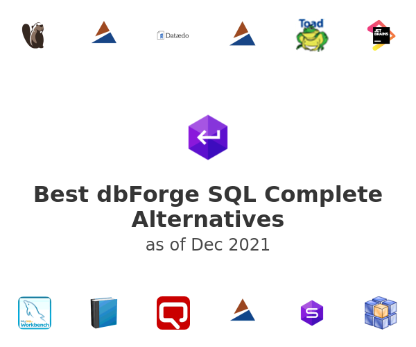 Best dbForge SQL Complete Alternatives