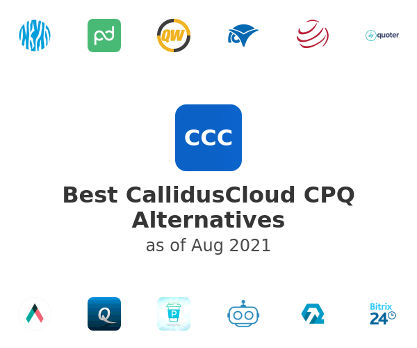 Best CallidusCloud CPQ Alternatives