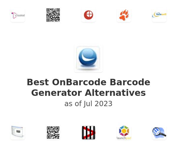 Best OnBarcode Barcode Generator Alternatives