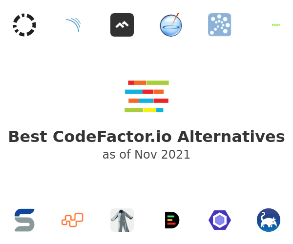 Best CodeFactor.io Alternatives