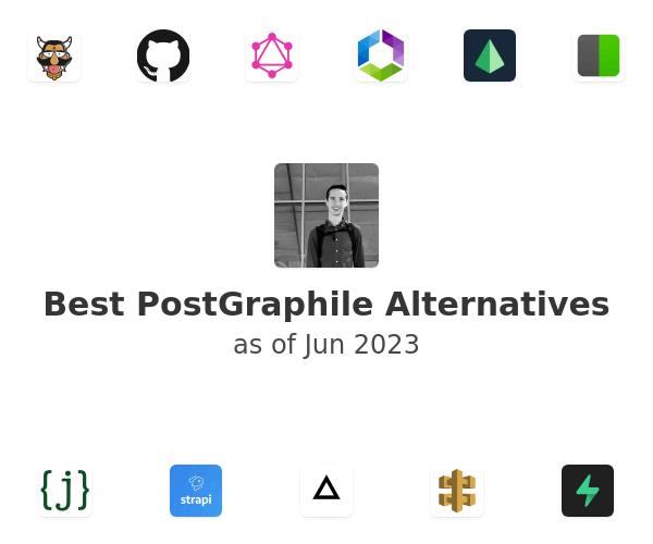 Best PostGraphile Alternatives