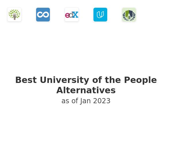 Best University of the People Alternatives