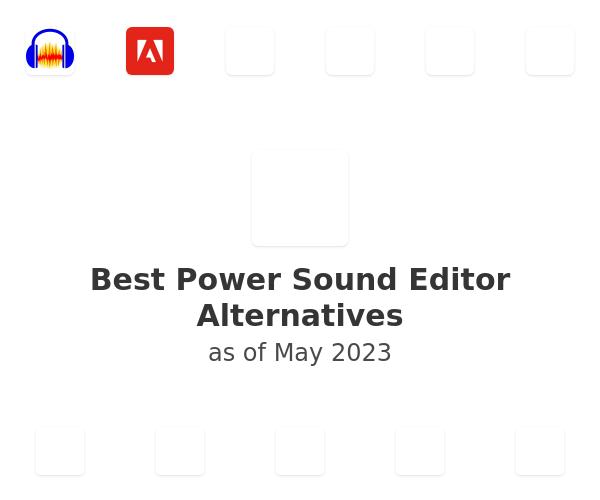 Best Power Sound Editor Alternatives