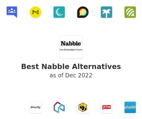Best Nabble Alternatives