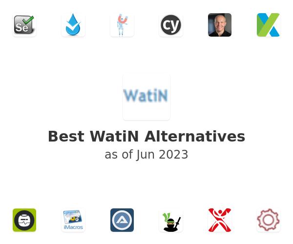 Best WatiN Alternatives
