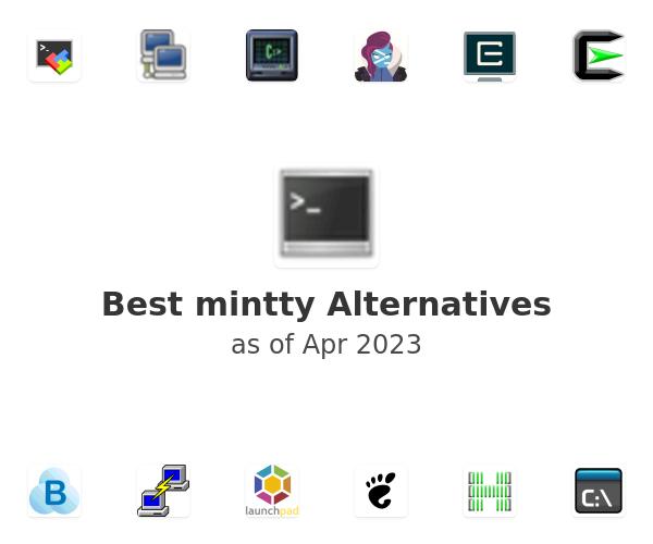 Best mintty Alternatives