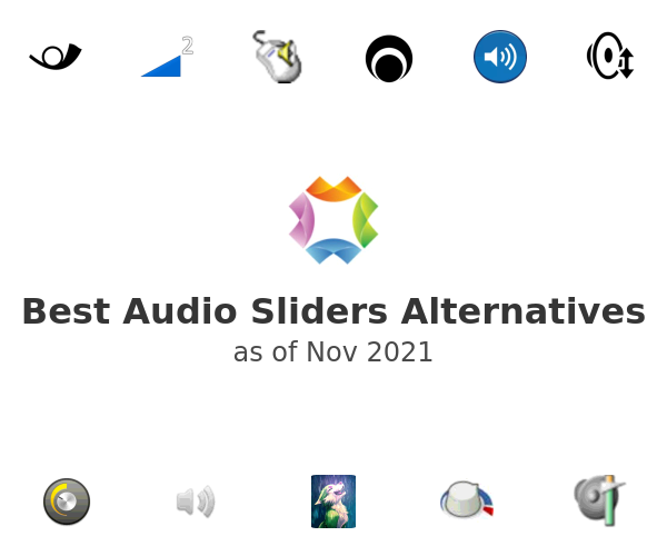 Best Audio Sliders Alternatives