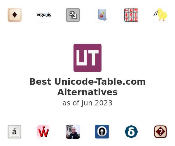 Best Unicode-Table.com Alternatives