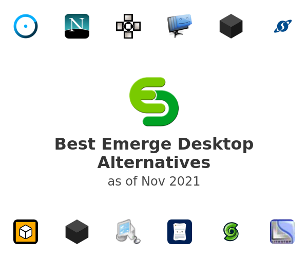 Best Emerge Desktop Alternatives