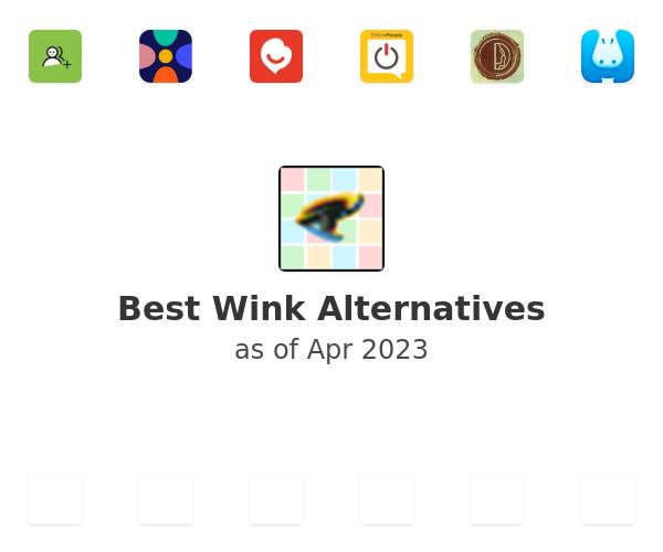 Best Wink Alternatives