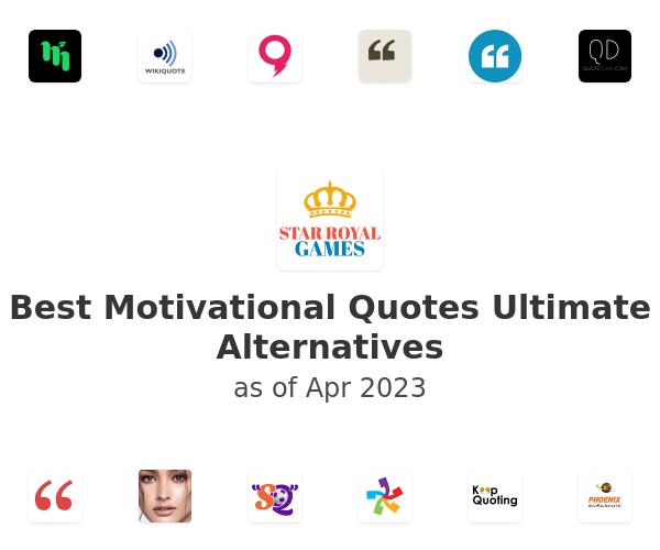 Best Motivational Quotes Ultimate Alternatives
