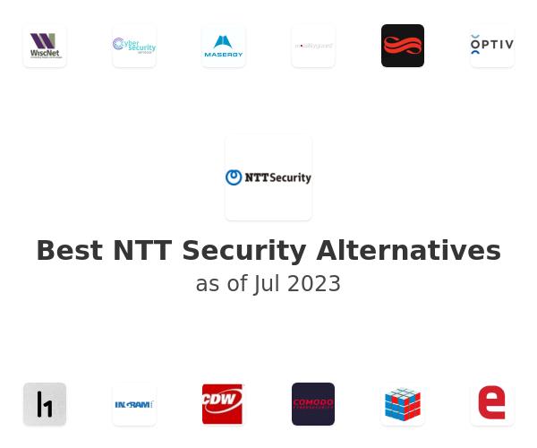 Best NTT Security Alternatives