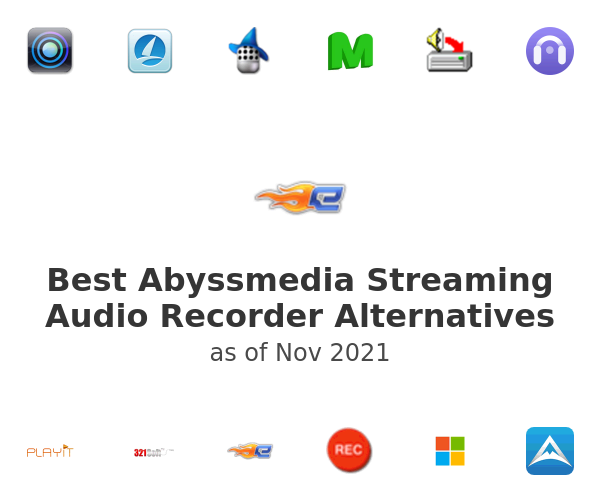 Best Abyssmedia Streaming Audio Recorder Alternatives