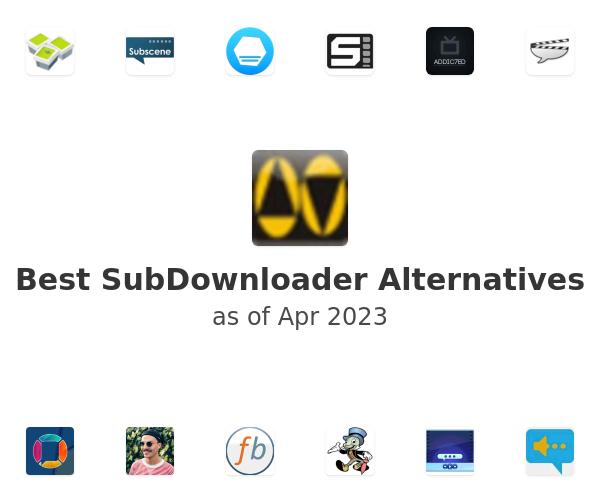 Best SubDownloader Alternatives