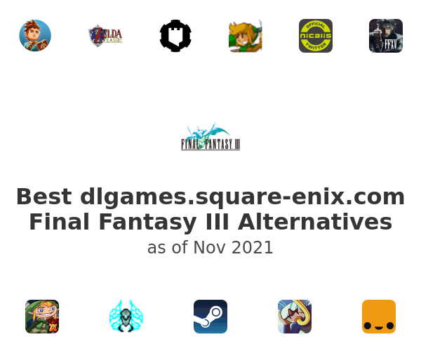 Best dlgames.square-enix.com Final Fantasy III Alternatives