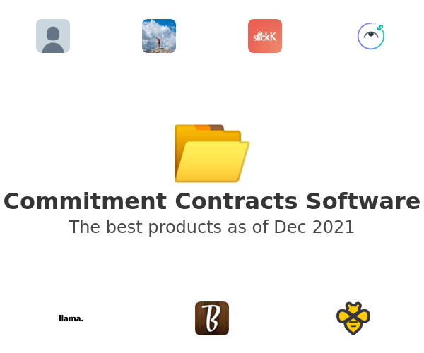 Commitment Contracts Software