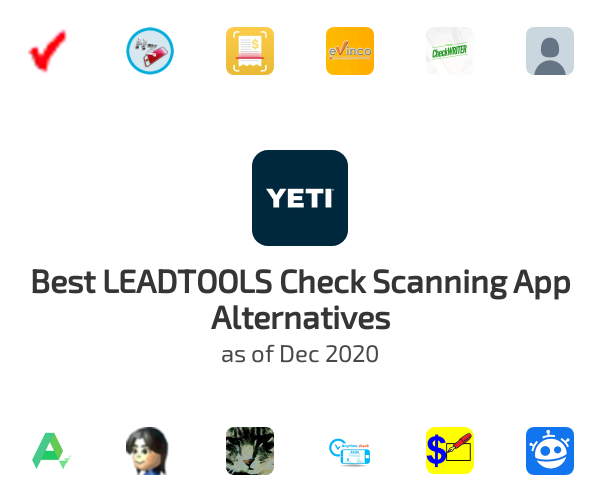 Best LEADTOOLS Check Scanning App Alternatives